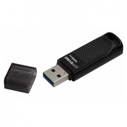 Kingston USB flash disk, USB 3.0 (3.2 Gen 1), 128GB, Elite G2, czarny, DTEG2/128GB, USB A, z osłoną