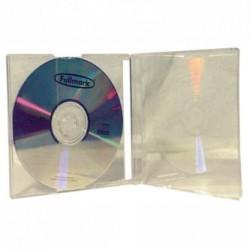 Box na 1 szt. CD, przezroczysty, przezroczysty tray, 10 mm, 200-pack, cena za 1 sztukę