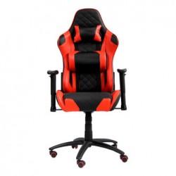 Fotel C1-K, czerwony, odczepiany zagłówek
