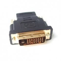 Redukcja, DVI na HDMI, DVI (24+1) M-HDMI M, 0, czarna, Logo