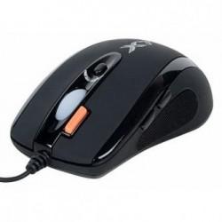 A4tech Mysz XL-750BK, 3600DPI, laserowa, 7kl., 1 scroll, przewodowa USB, czarna, do gry