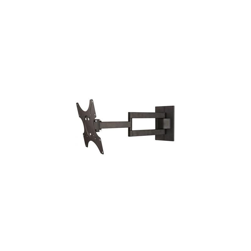 "Regulowany uchwyt SBOX PLB-3644, 32""-55"", 35 kg max, 400x400 VESA, 60mm-473mm, czarny, do LCD i LED"