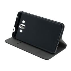 Box na 1 szt. CD, miękki plastik, czarny, cienki, 5,2 mm
