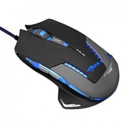 E-Blue Mysz Mazer Pro, 2500DPI, optyczna, 6kl., 1 scroll, przewodowa USB, czarna, do gry