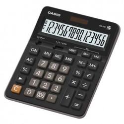 Casio Kalkulator GX 16 B, czarna, 16 miejsc, podwójne zasilanie